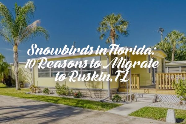 Snowbirds in Florida: 10 Reasons to Migrate to Ruskin, Florida