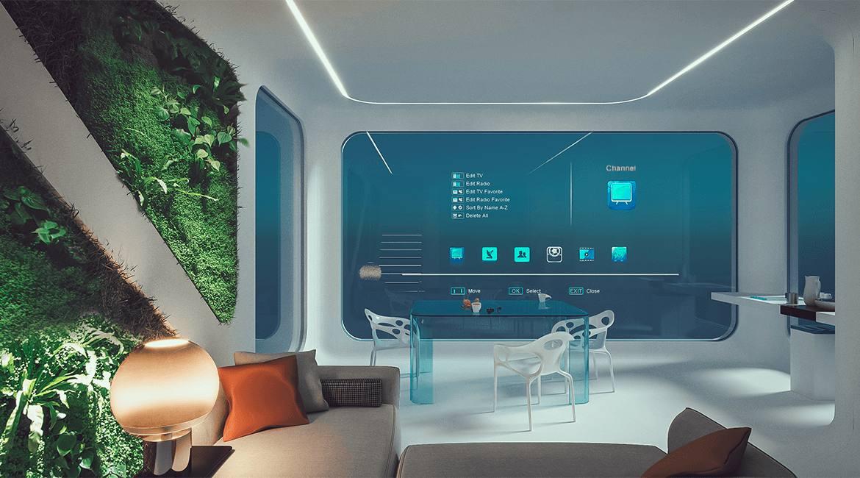 Futuristic modular house
